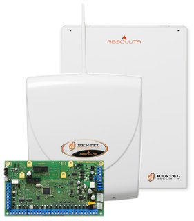Kit completo bentel 42 absoluta gsm 3 bmd504 batterie for Bentel security absoluta